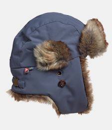 ISBJÖRN SQUIRREL Winter Fur (faux) Cap